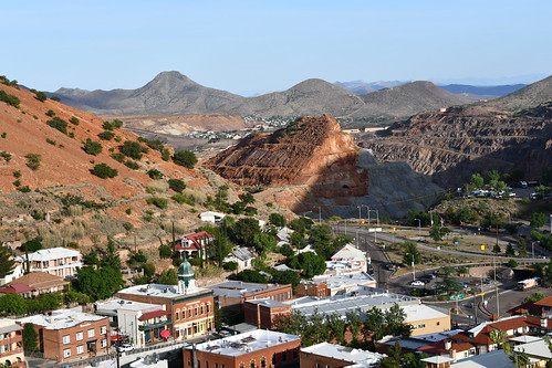 Bisbee Panoramic View. From History Comes Alive in Cochise County, Arizona