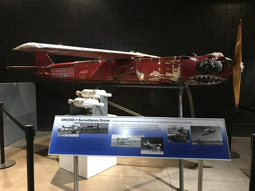 Fort Huachuca Museum Army's 1st UAV Drone the SD-1. From History Comes Alive in Cochise County, Arizona