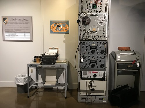 Fort Huachuca Museum High Frequency Signal Intercept Station c. 1980. From History Comes Alive in Cochise County, Arizona