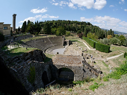 Amphitheatre in Fiesole . From The Best Free Attractions To Visit In Florence