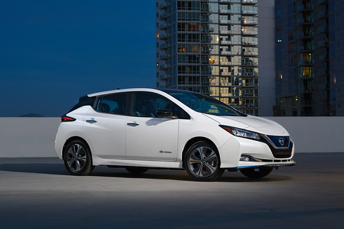 Nissan Electric Vehicle Incentives Photo