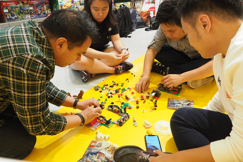 Bricksworld LEGO Certified Store AFOL Night July 2019