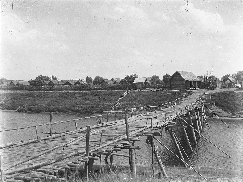 14. 1897. Мост и деревня