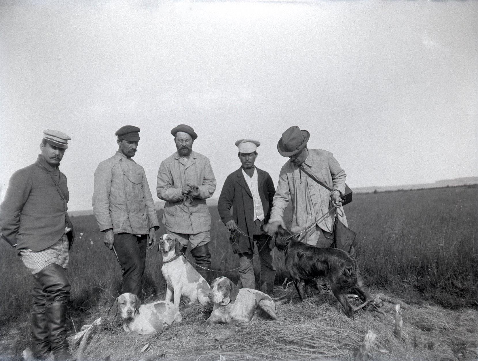11. 1897. На полевых испытаниях собак. Химкинская станция