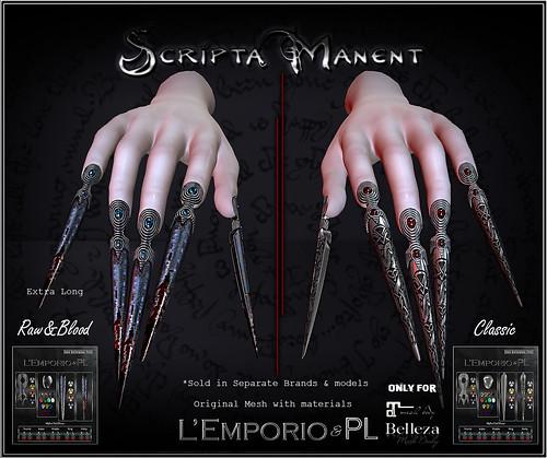 L'Emporio&PL ::*Scripta Mantent*:: Female