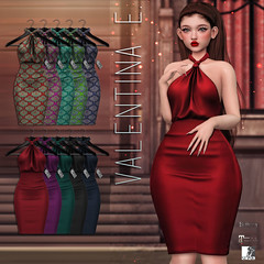 NEW! Valentina E. Annabelle Dress @ UBER!