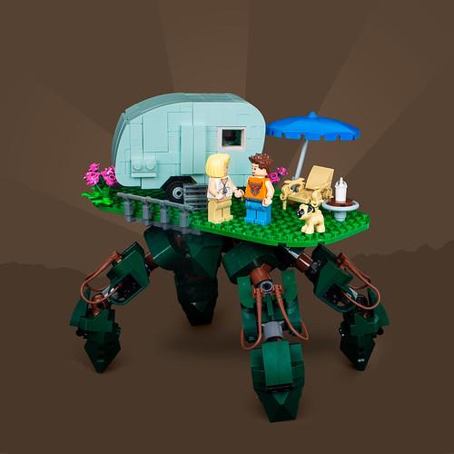 Mech Monday #30: Caravan Crawler
