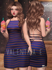NEW! Valentina E. Layla Dress @ FaMESHedX!