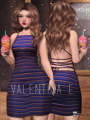NEW! Valentina E. Layla Dress @ FaMESHedX!