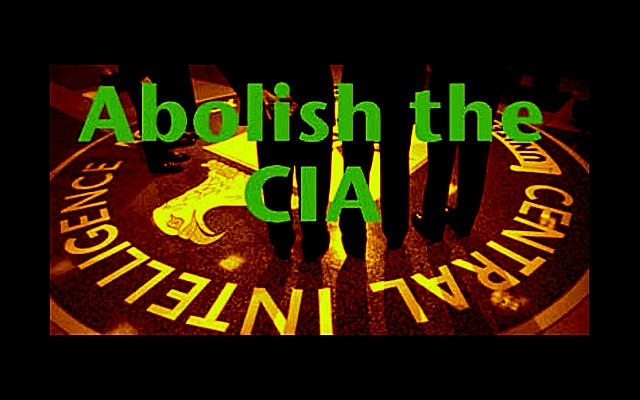 Abolish the CIA