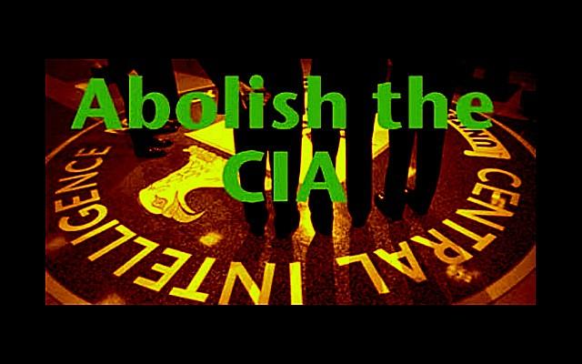 Abolish the CIA