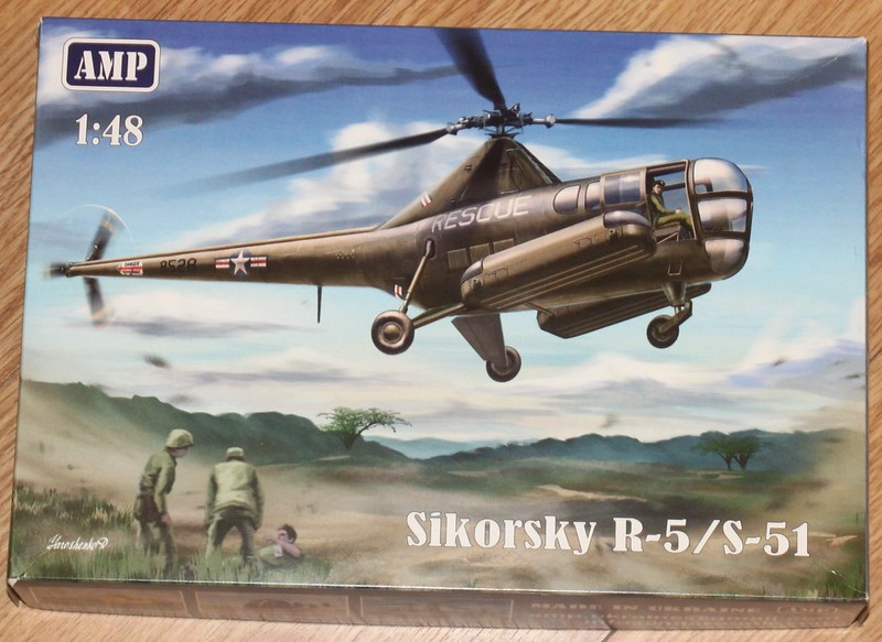 Sikorsky R-5 / S-51 Dragonfly, AMP, 1/48 48406880261_9b75a19c6a_c