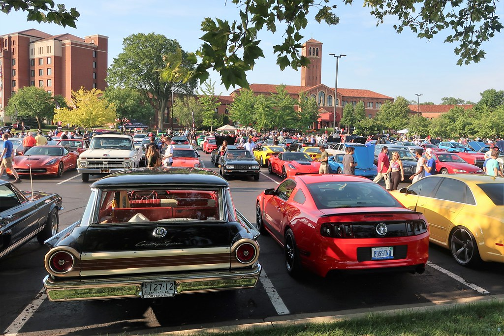 2019 Cars and Coffee, Concours d'Elegance Of America, Inn at St. Johns, Plymouth, MI - 7/27/19