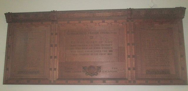 St Drostan's, Markinch Great War Memorial