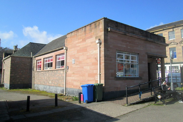 Art Deco By=uilding, Dingwall, Reverse View