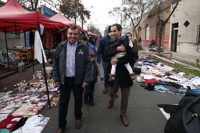 #EnTerreno : Plaza de la Ciudadanía en Feria Pedro Lagos