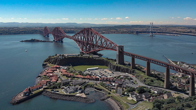 Forth Bridge and North Queensferry