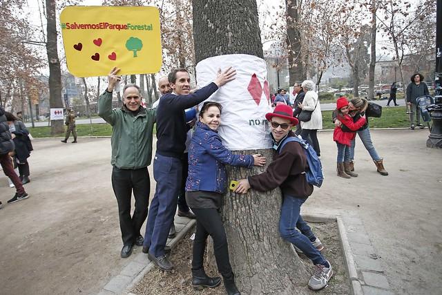#EnTerreno : Abrazatón al Parque Forestal