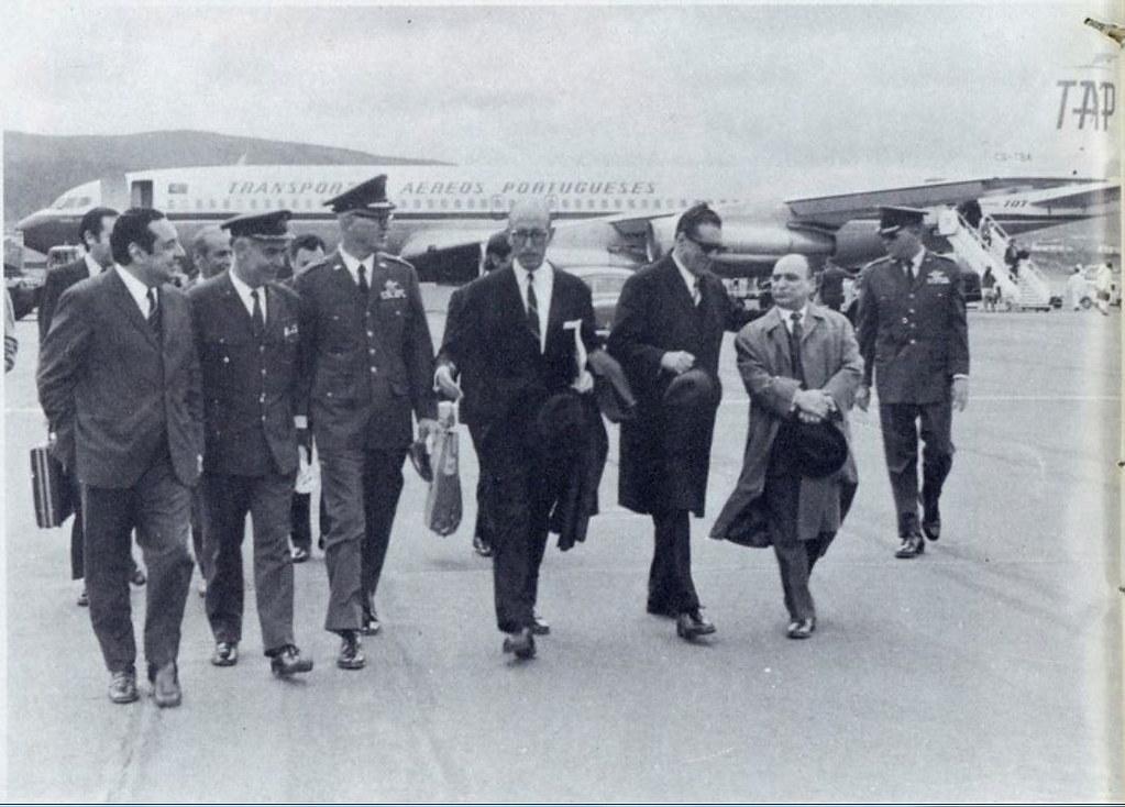 Voo inaugural LIS/TER/LIS dos Transportes Aéreos Portugueses, Ilha Terceira, 1971
