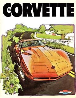 1974 Chevrolet Corvette (Canadian Brochure)