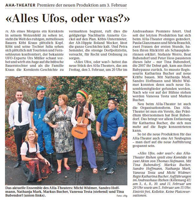 2012 - Alles Ufos oder was? (Thomas Hofmann)