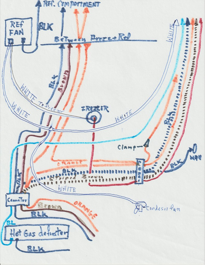 1965 General Electric Wiring