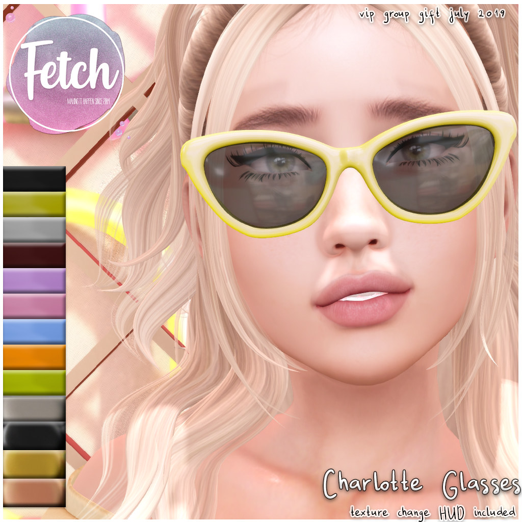 [Fetch] Charlotte Glasses – July '19 VIP GIFT