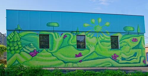 Delmar mural