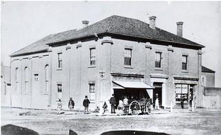Original Goulburn Mechanics Institute c. 1870