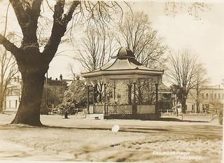 Belmore Park Band Rotunda, Goulburn c. 1940