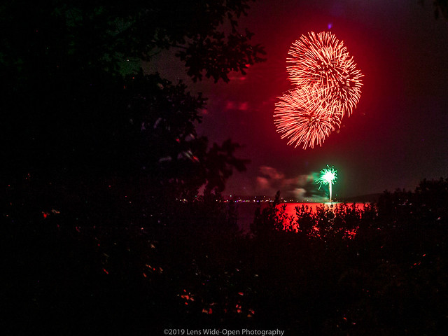 Sammy's Beach Fireworks