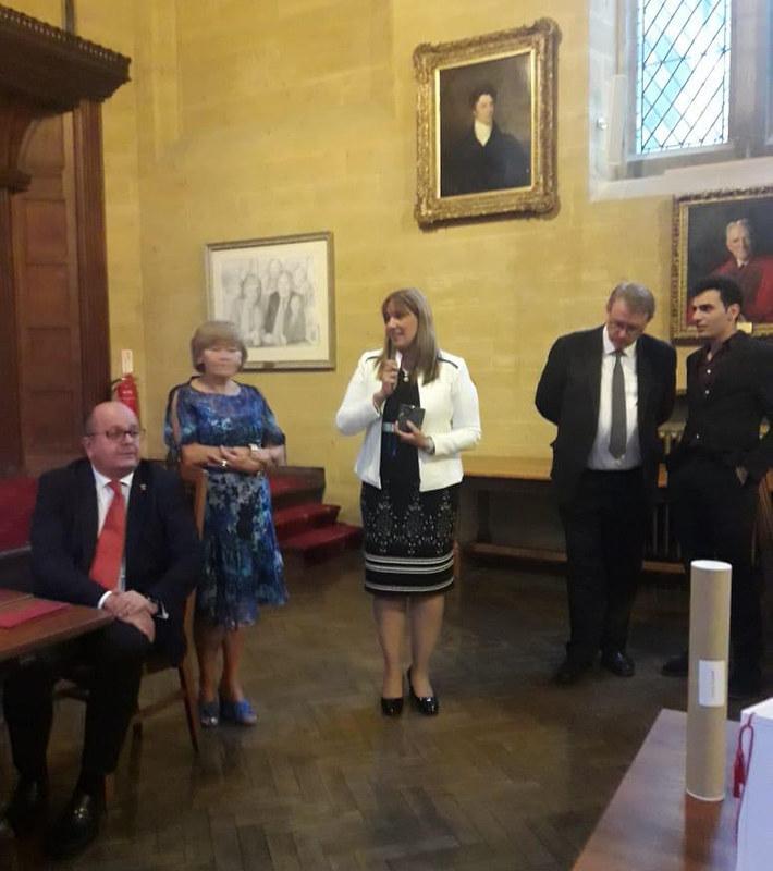 2019-29-07 SALUD: Mil Días fue premiado por la Univ. de Oxford