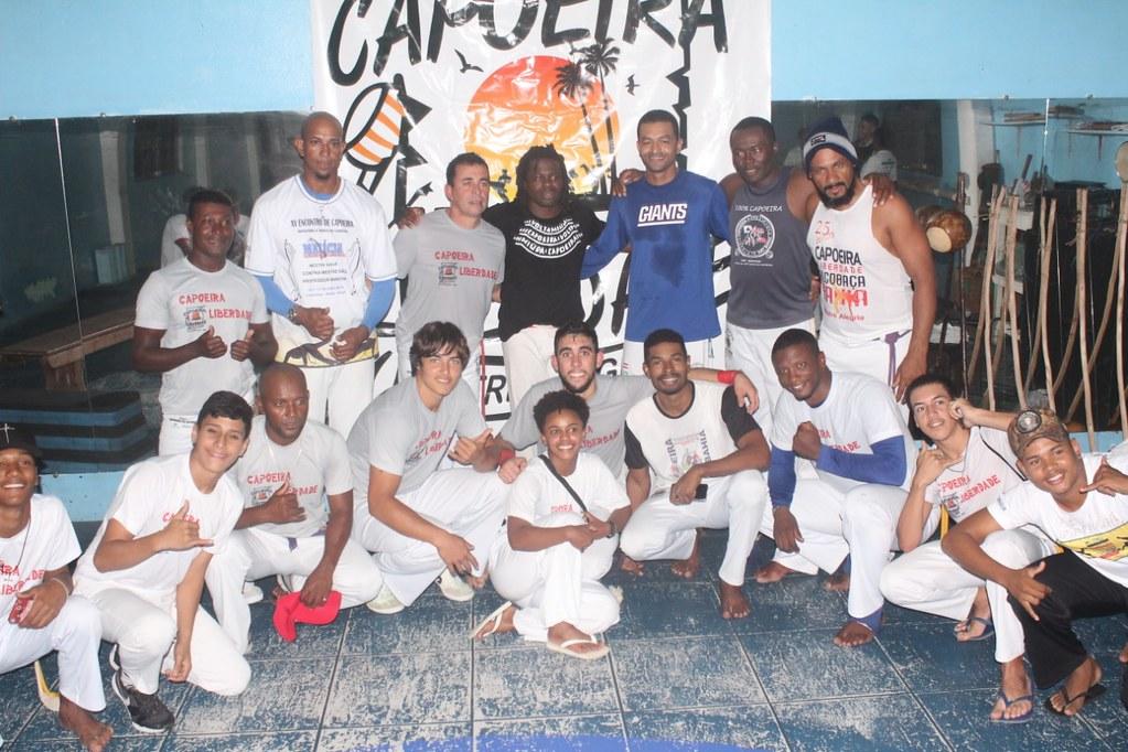 Capoeira Liberdade promove intercâmbio cultural com alunos do projeto Capoeira do Futuro (18)