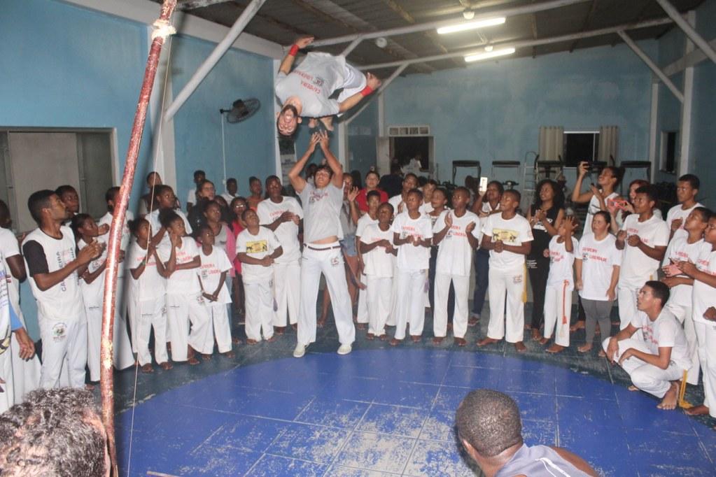Capoeira Liberdade promove intercâmbio cultural com alunos do projeto Capoeira do Futuro (15)