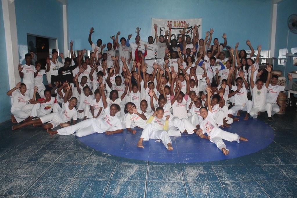 Capoeira Liberdade promove intercâmbio cultural com alunos do projeto Capoeira do Futuro (8)