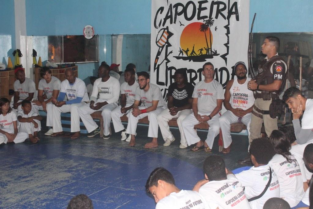 Capoeira Liberdade promove intercâmbio cultural com alunos do projeto Capoeira do Futuro (5)