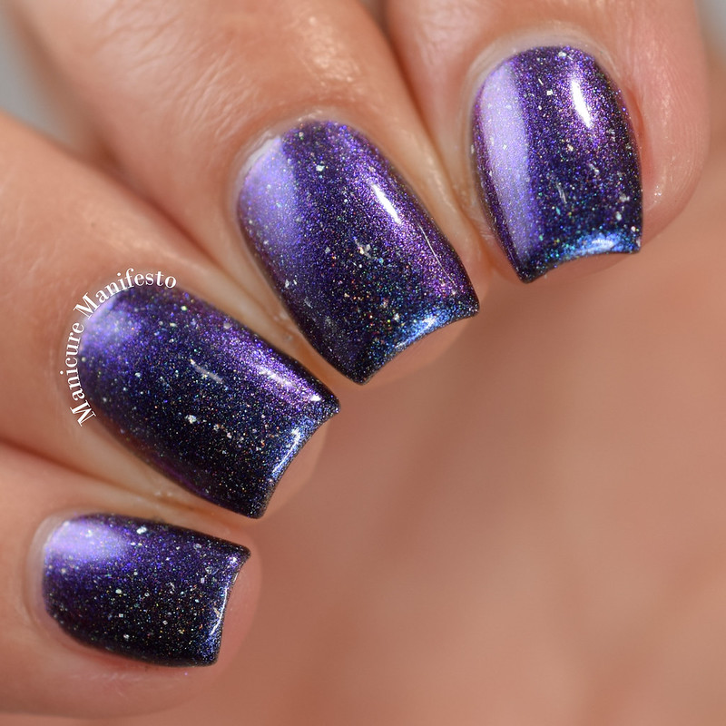 Paint It Pretty Polish Fireflies Stuck Up In That Blueish Black Thing review