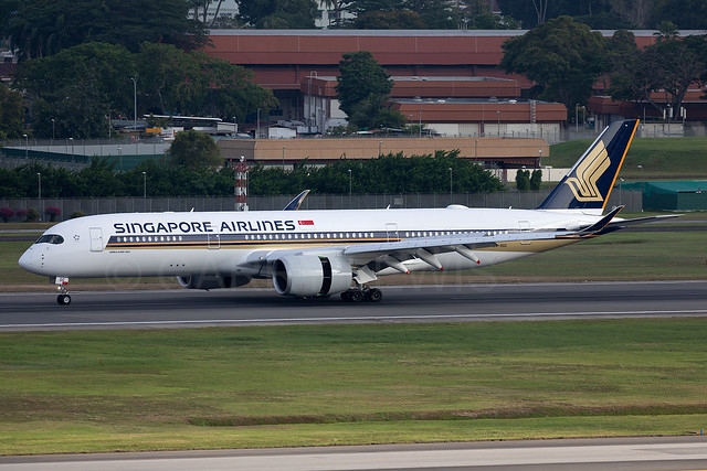 Singapore Airlines Airbus A350-900ULR 9V-SGC [SIN]