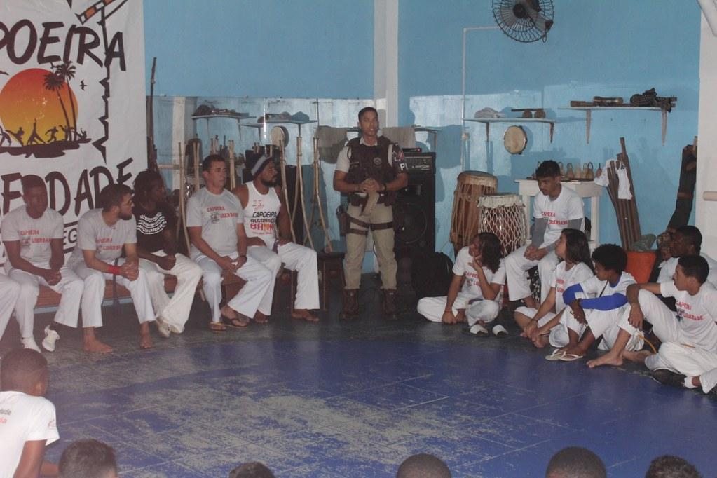 Capoeira Liberdade promove intercâmbio cultural com alunos do projeto Capoeira do Futuro (4)