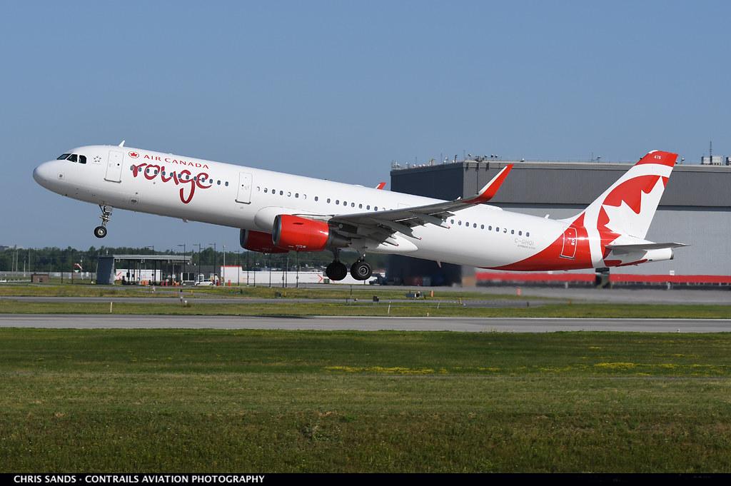 Air Canada Rouge A321 CGHQI