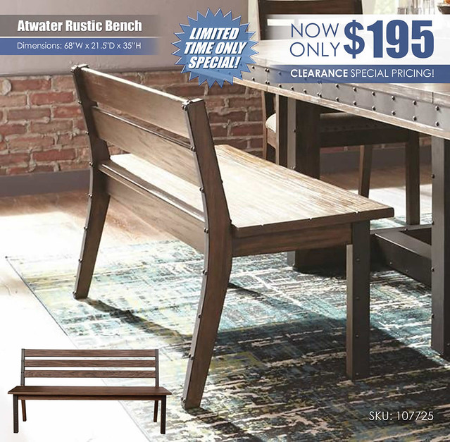 Atwater Bench_107725_Clearance