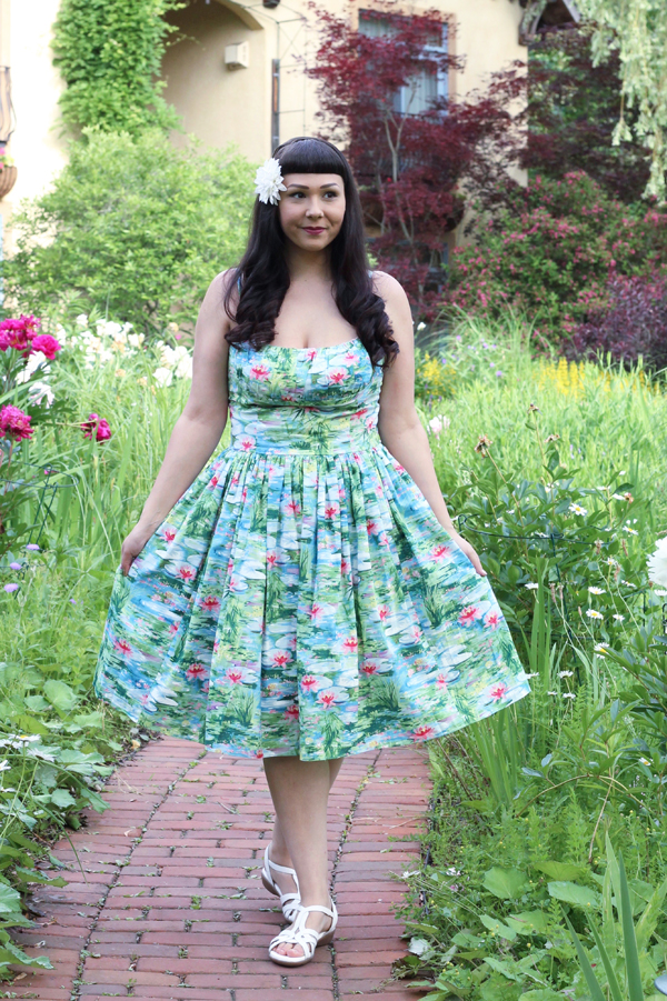 waterlily dress