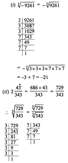 ML Aggarwal Class 8 Solutions Chapter 4 Cubes and Cube Roots Check Your Progress Q4