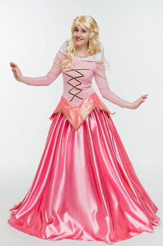Женский карнавальный костюм Cпящая красавица