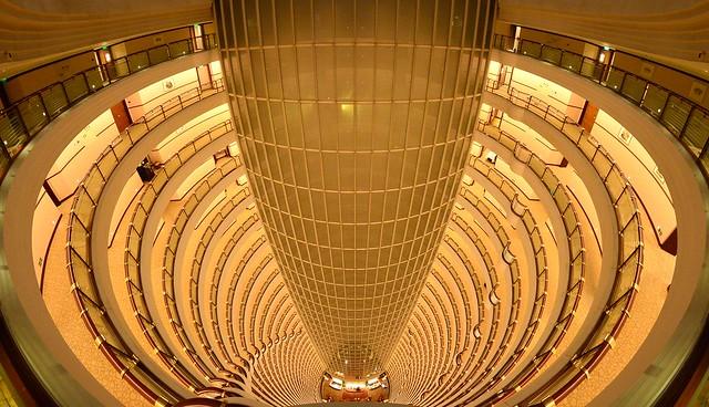 Shanghai - Grand Hyatt Lobby, Jin Mao Tower