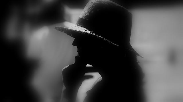 Hat in dark