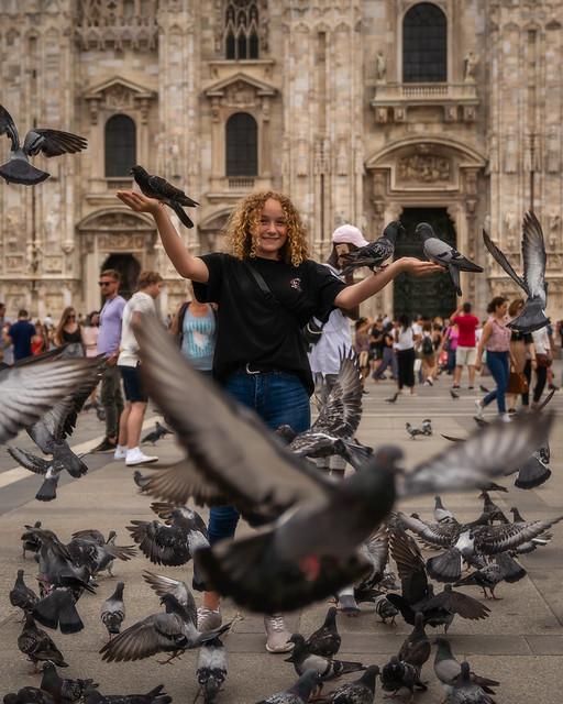 The mistress of the pigeons- Die Herrin der Tauben