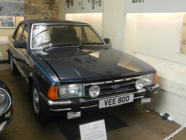 Ford Granada, Moray Motor Museum, Elgin, June 2019