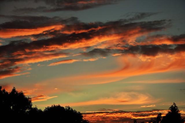 Sky on Fire.
