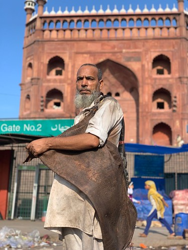 City Monument - Goatskin Mashaks, Old Delhi